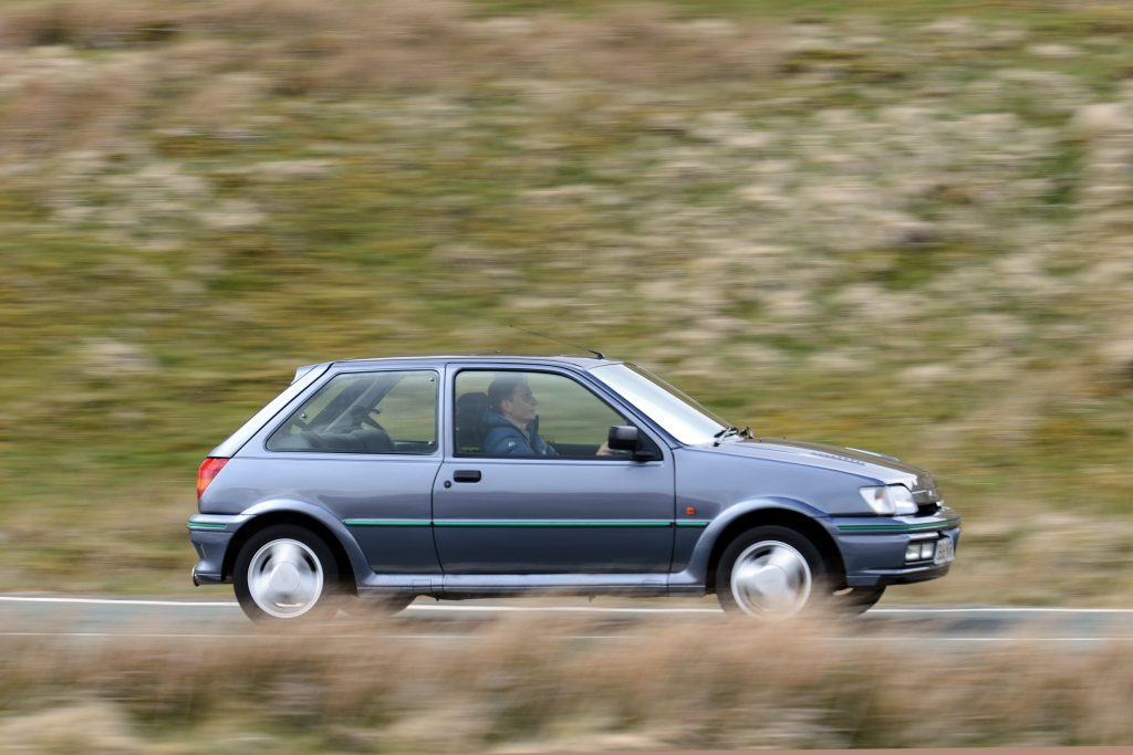 Driving the Fiesta RS Turbo