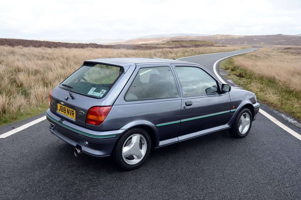 1991 Ford Fiesta RS Turbo driven