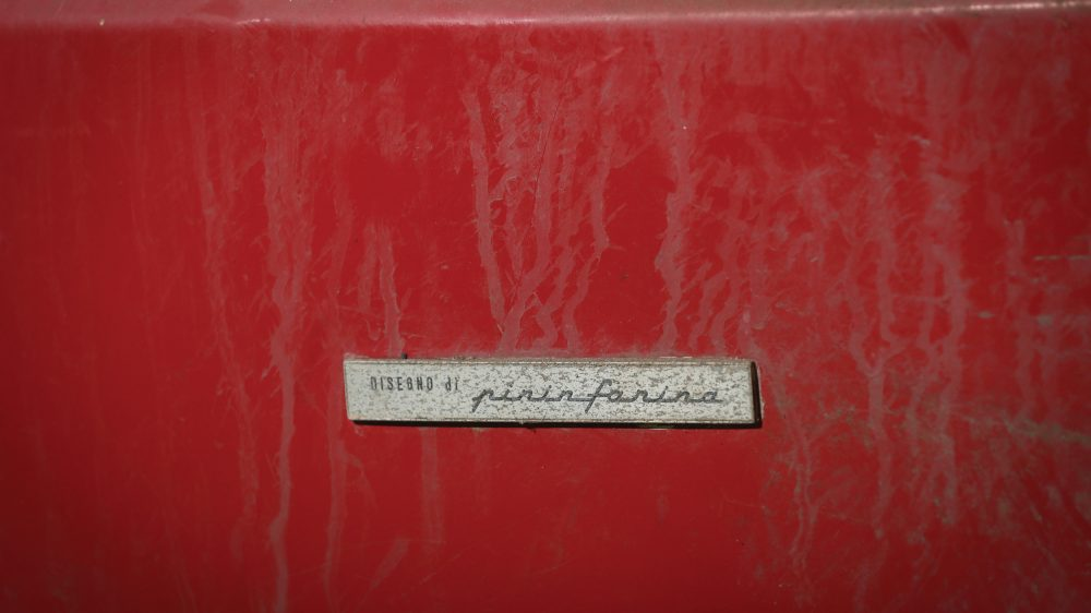 Ferrari Daytona alloy body Pininfarina badge