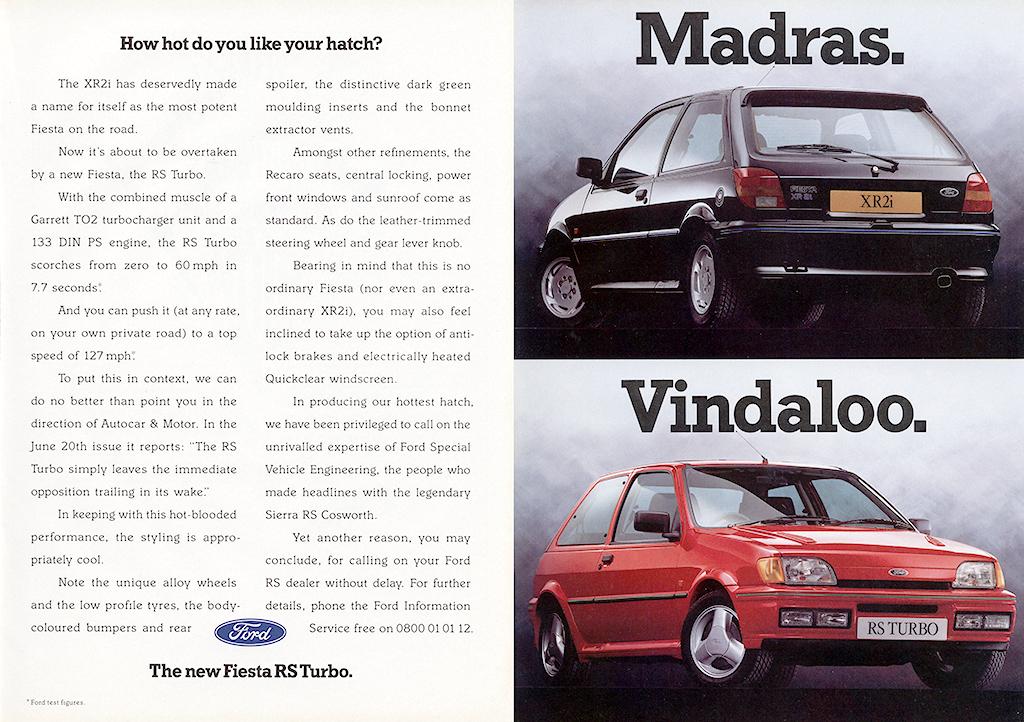Ford Fiesta advert
