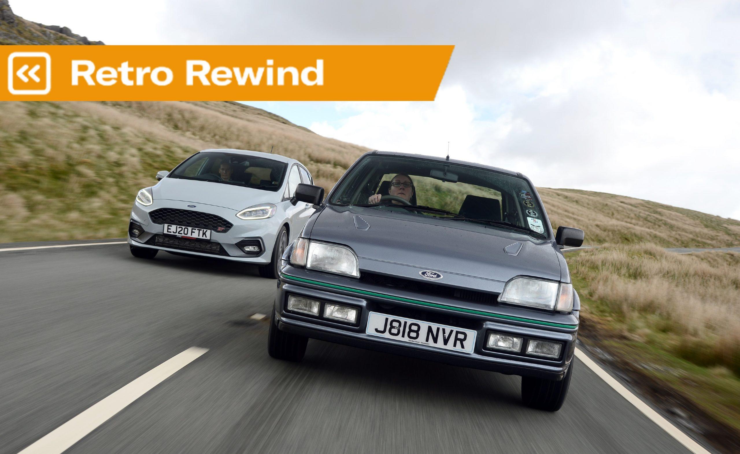 Retro Rewind: Ford Fiesta RS Turbo vs Fiesta ST