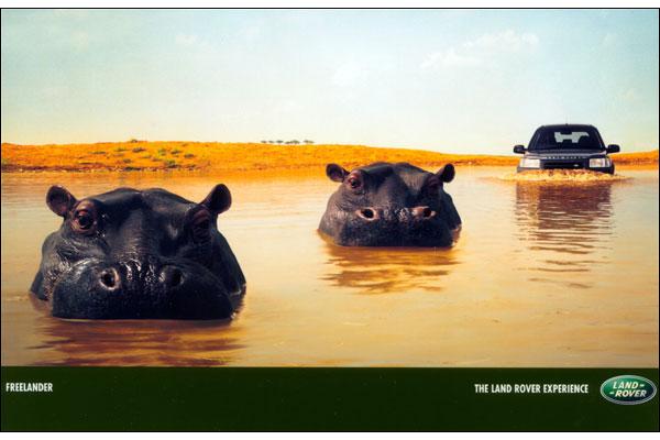 Land Rover Freelander advert