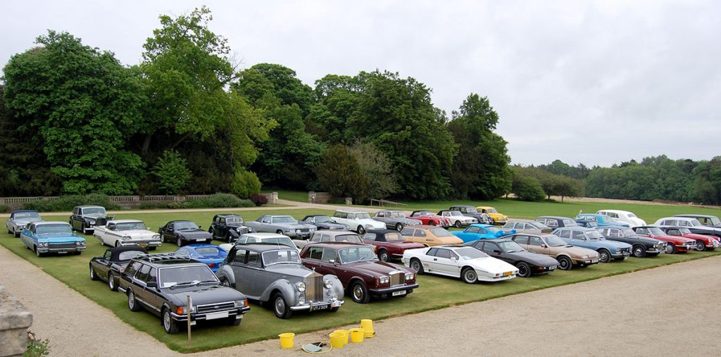 Events held by the Gay Classic Car Group