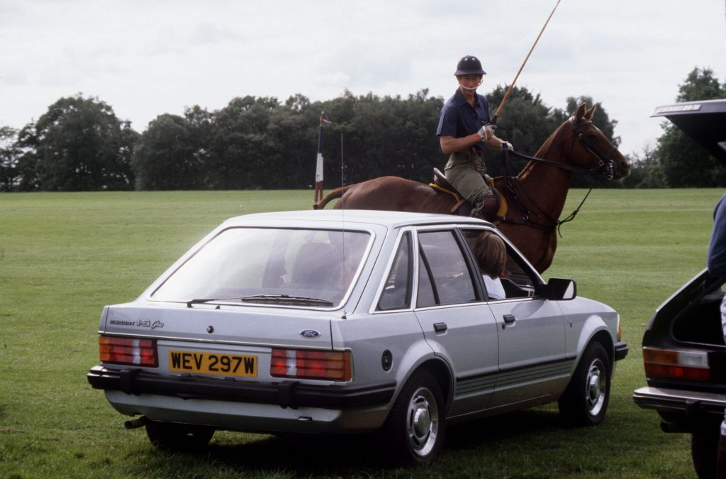 1981 Ford Escort Ghia owned by Princess Diana