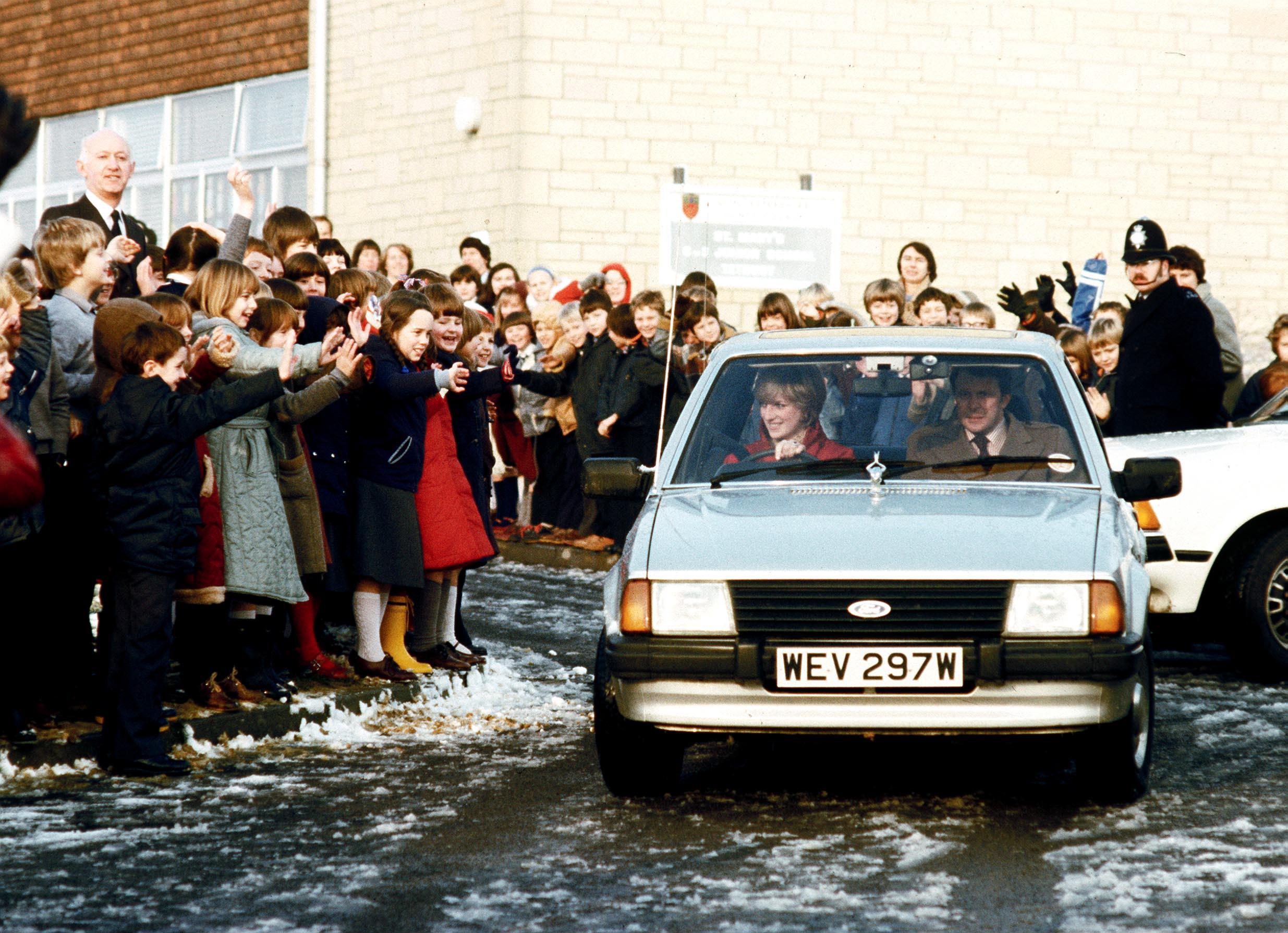 Princess Diana's humble Ford Escort sells for a royal sum