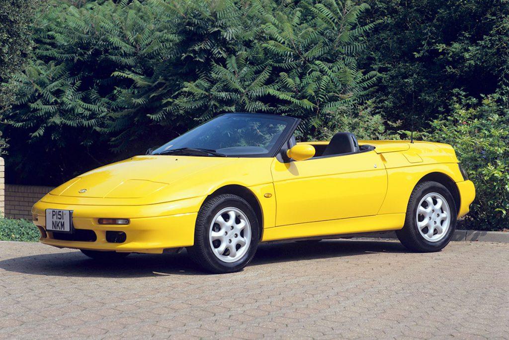 Kia Elan sports car