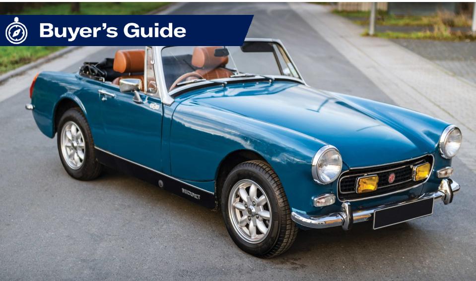 MG Midget Buying Guide (1961-1980)