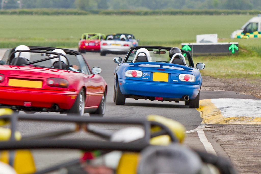 Mazda MX-5 Owners Club track day event