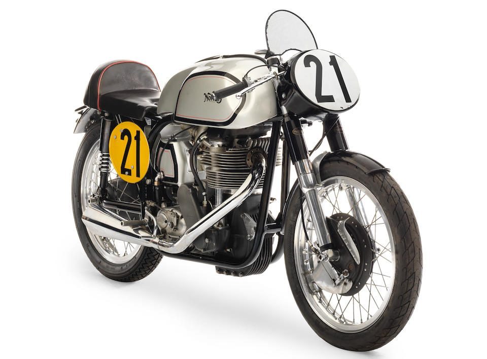 Norton Manx is one of the most collectable bikes of 2021