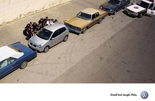Volkswagen Polo advert