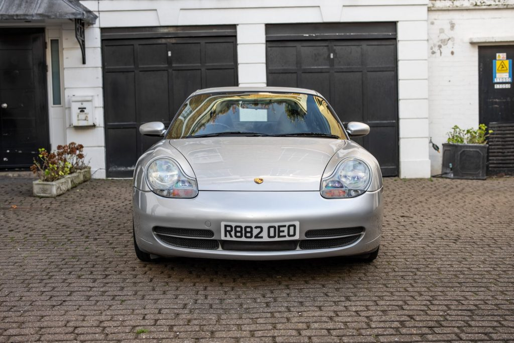 Porsche 911 996 values_Hagerty Price Guide