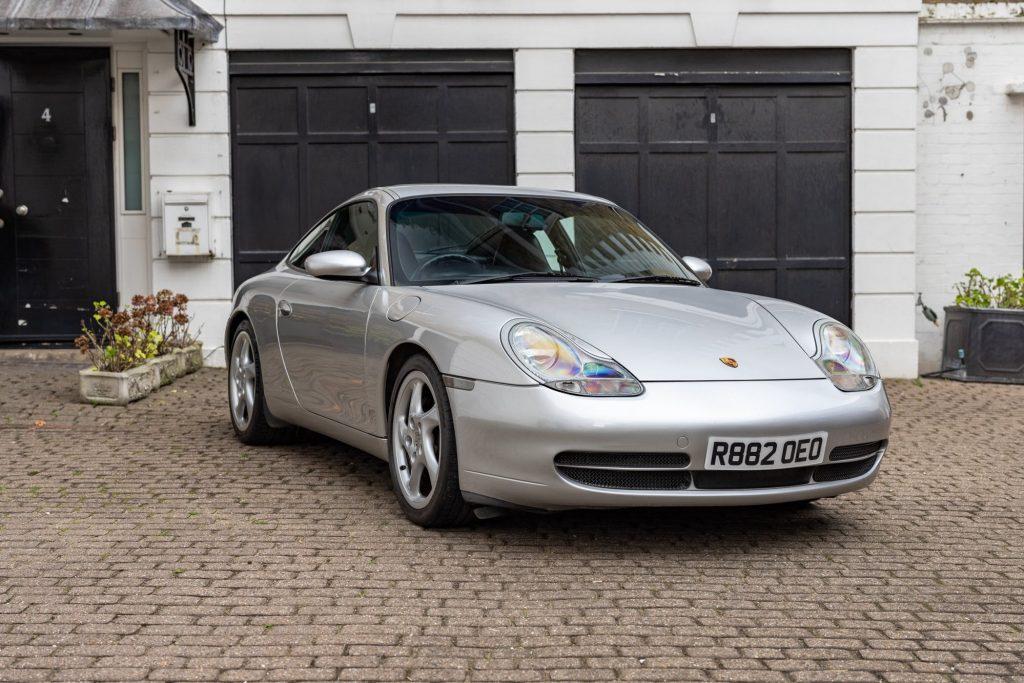Porsche 911 996 front