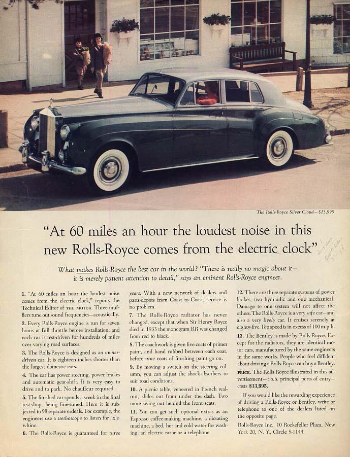 Rolls-Royce Cloud advert