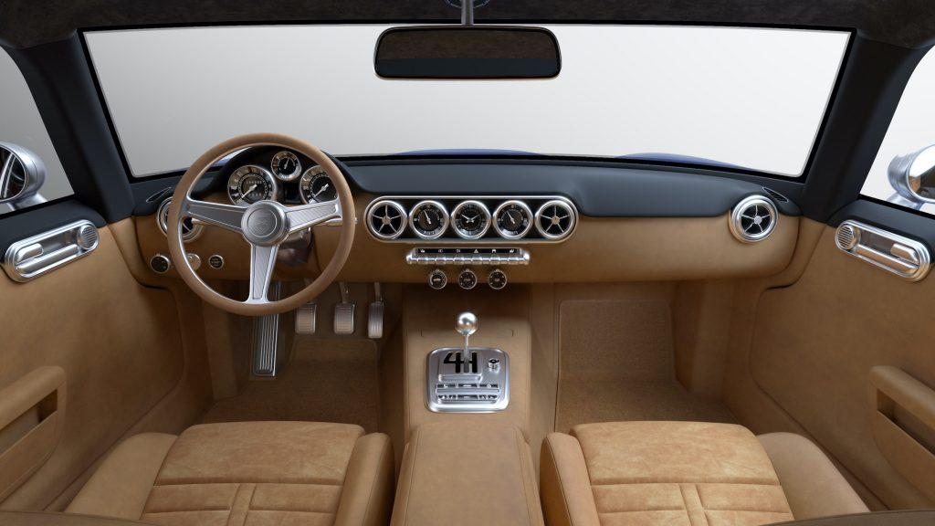 RML Short Wheelbase interior render