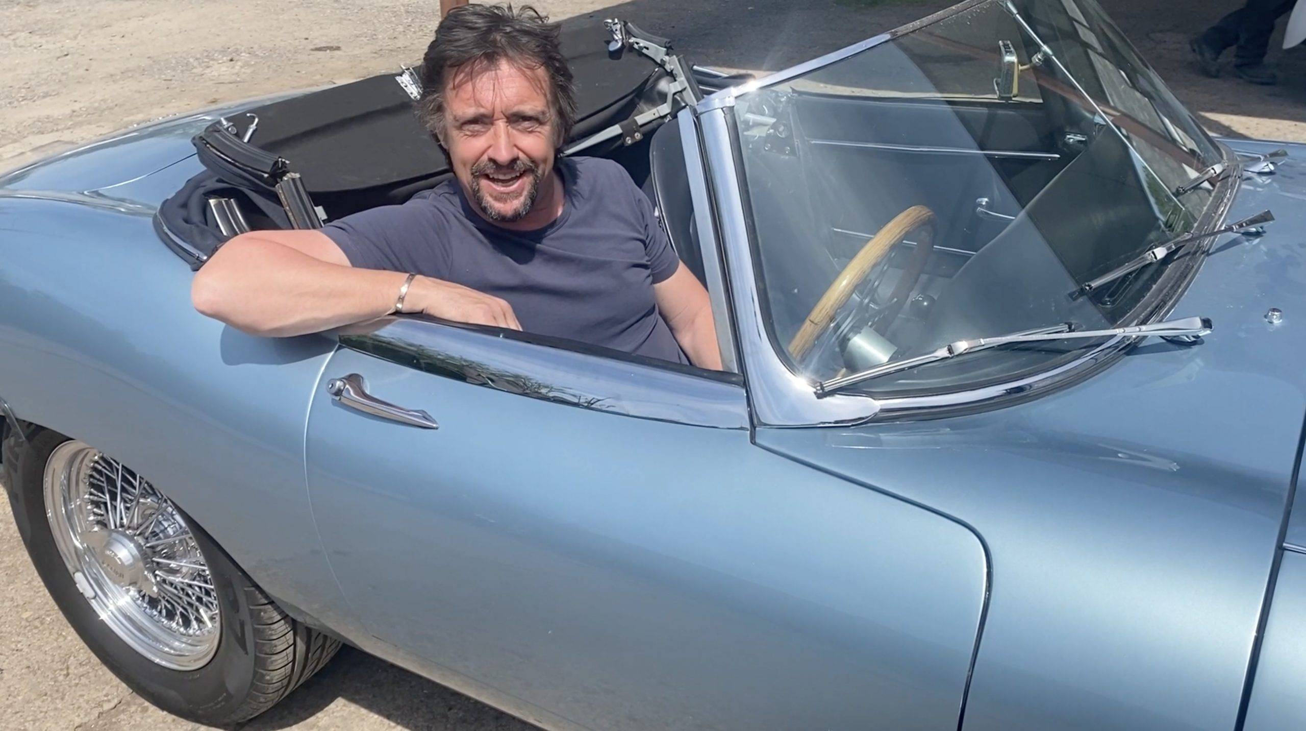 Richard Hammond launches new classic car workshop – and a TV show to go with it