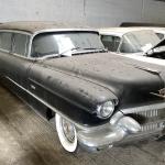 Vintage Cadillac limousine