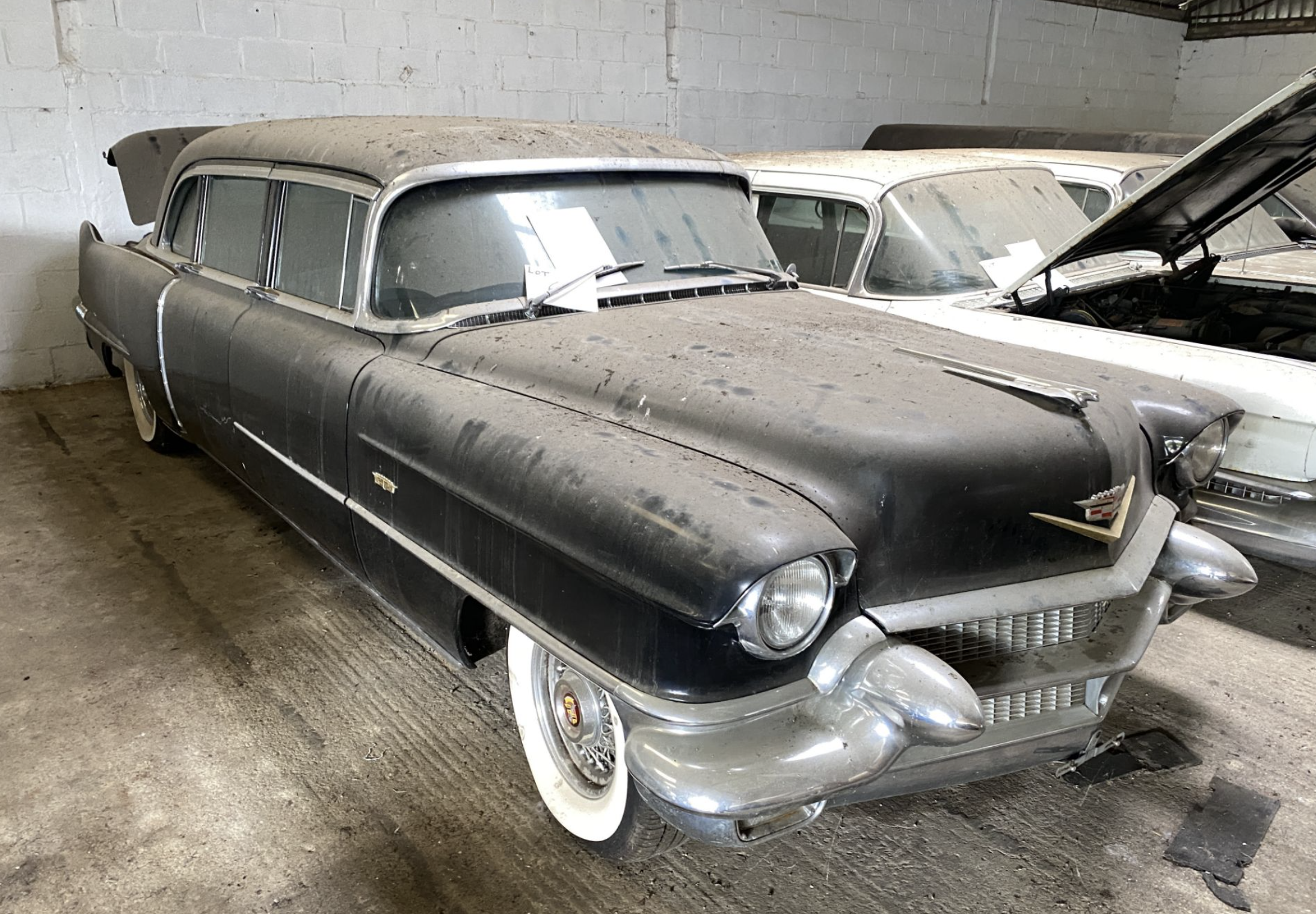 Dust to dust: 14 vintage Cadillacs in British barn find auction