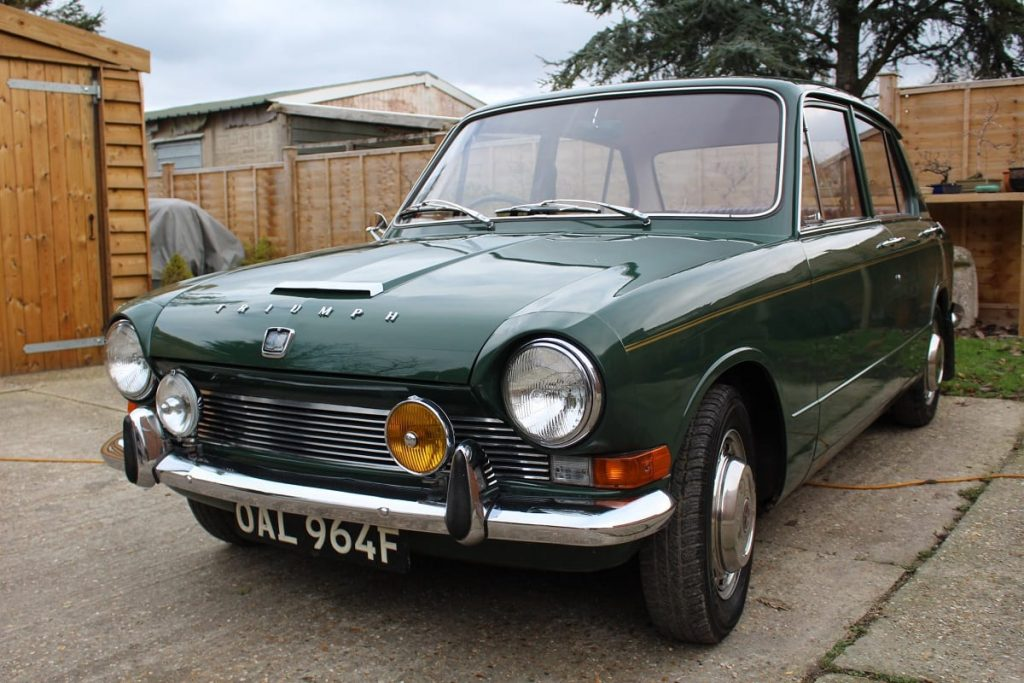Triumph 1300 has risen by 20.4 per cent according to Hagerty Price Guide