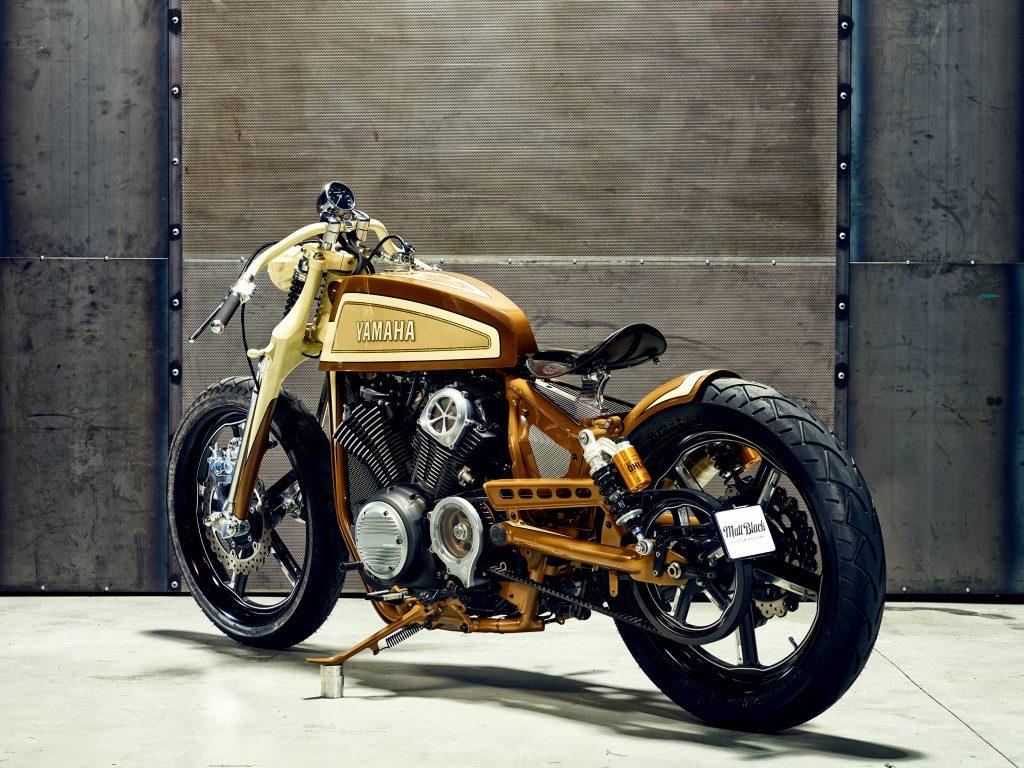 Custom bike built by Anthony Partridge