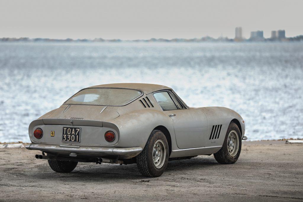 1966 Ferrari 275 GTB long-nose alloy coupe barn find