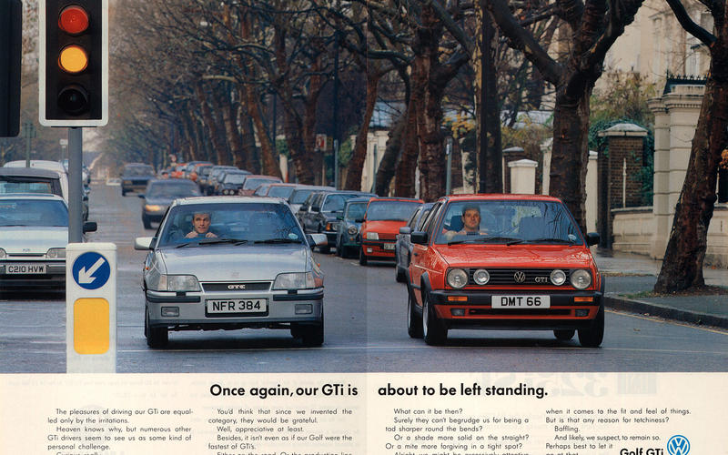 Volkswagen Golf GTI advert