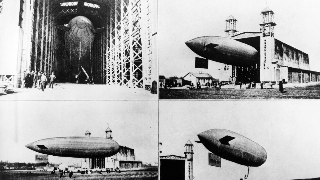 Austria's first aircraft—designed by Ferdinand Porsche Porsche