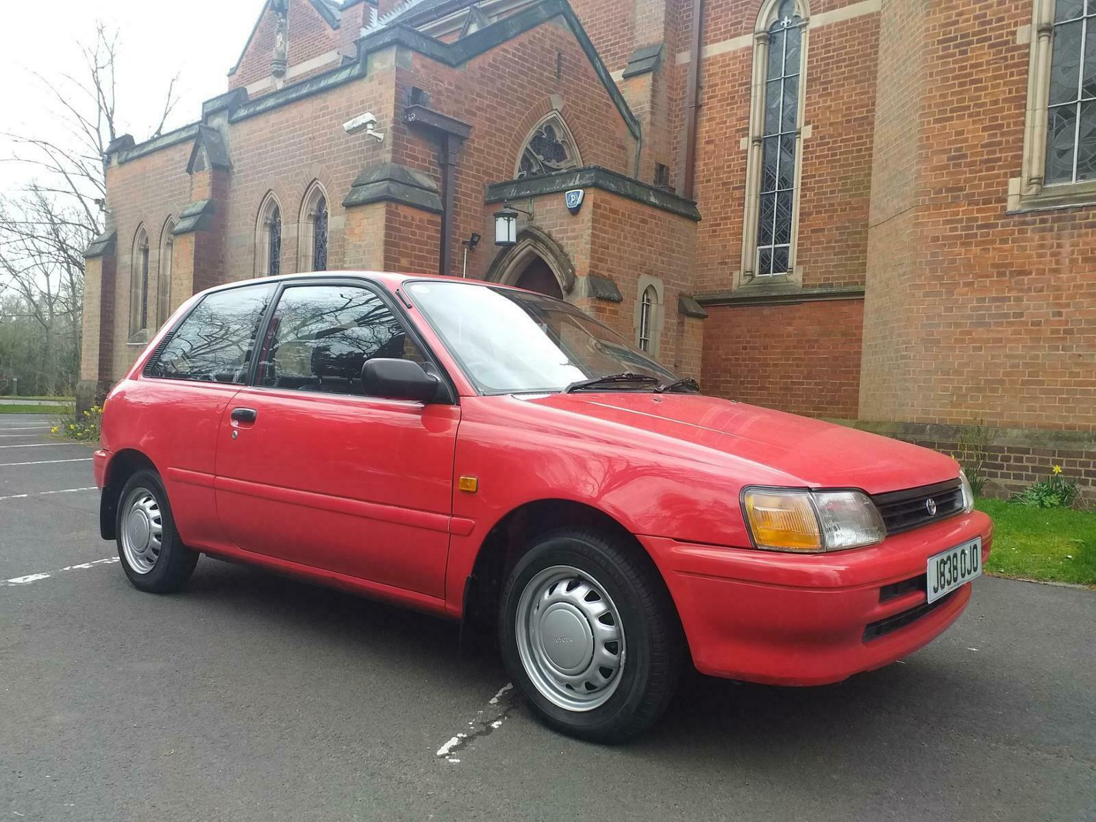 Unexceptional Classifieds: Toyota Starlet GL