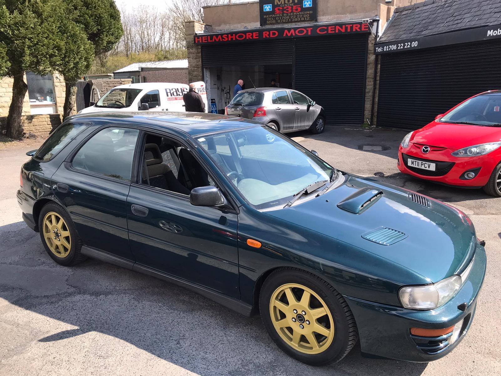 Our classics: 1996 Subaru Impreza Turbo