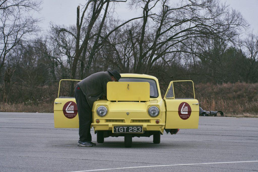 Reliant Robin test drive