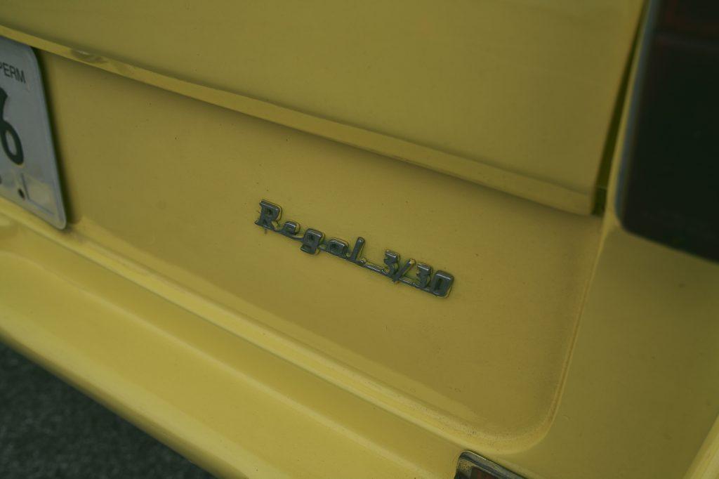 Reliant Regal badge