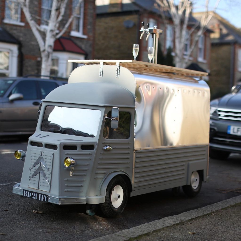 Citroen H van scale model with beer pump_by Yannick Read