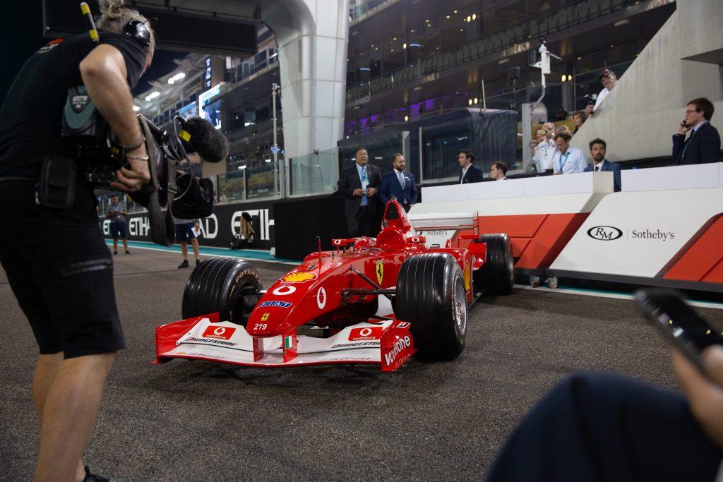 2002 Ferrari F2002, ex-Schumacher – £5m
