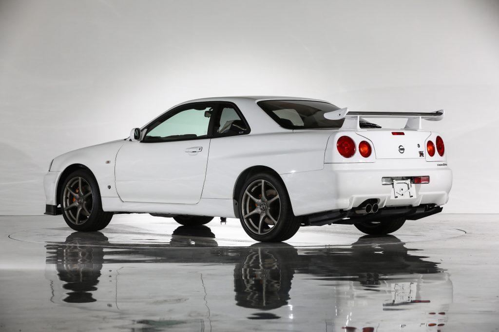 Nissan Skyline GT-R R34 values