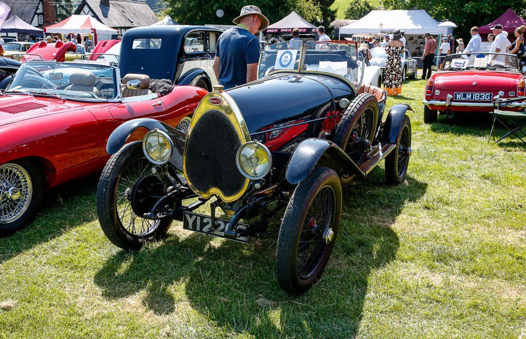 Paul Tebbett's wonderful 1922 Bugatti Type 22 Brescia