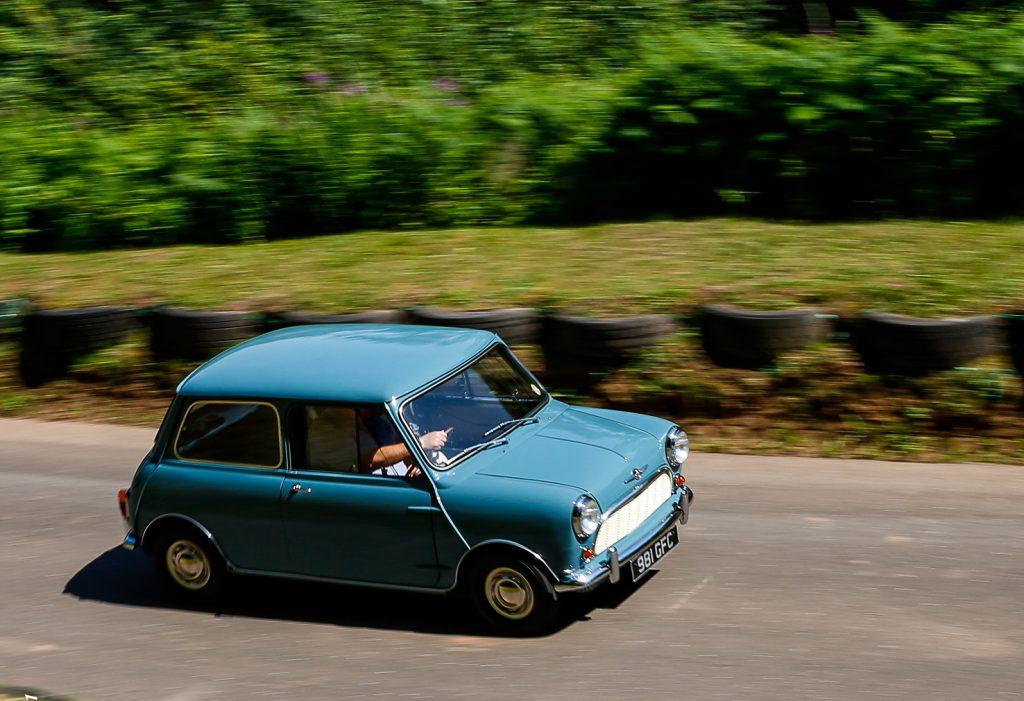 John Powrie's lovely 1959 Clipper Blue Mini
