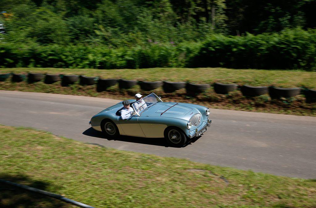 Richard Orford's superbly restored Austin-Healey 100M