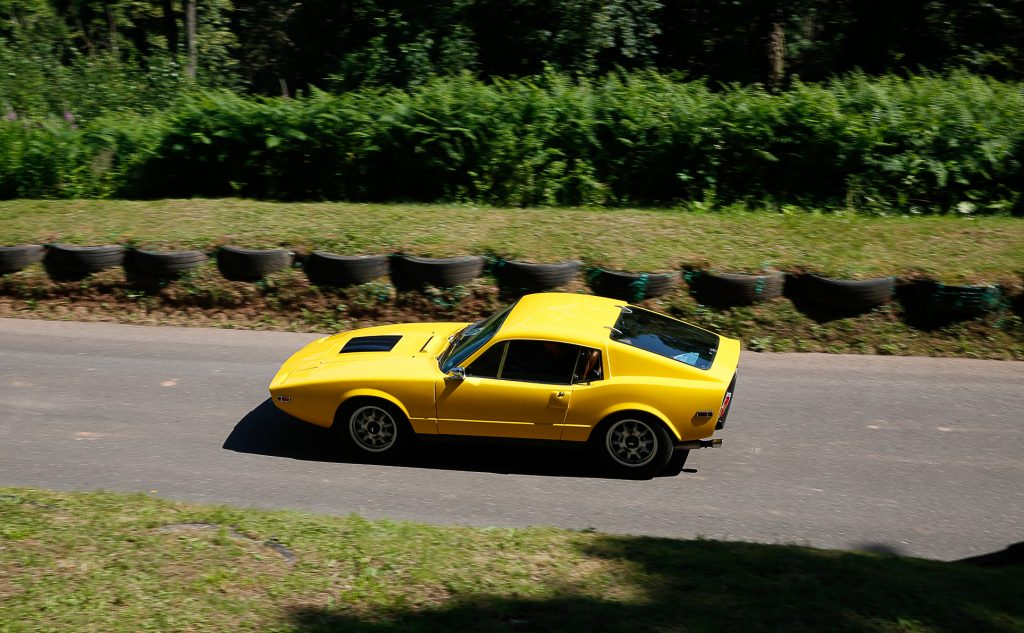 Saab Sonnet at Shelsley Walsh Classic Nostalgia concours