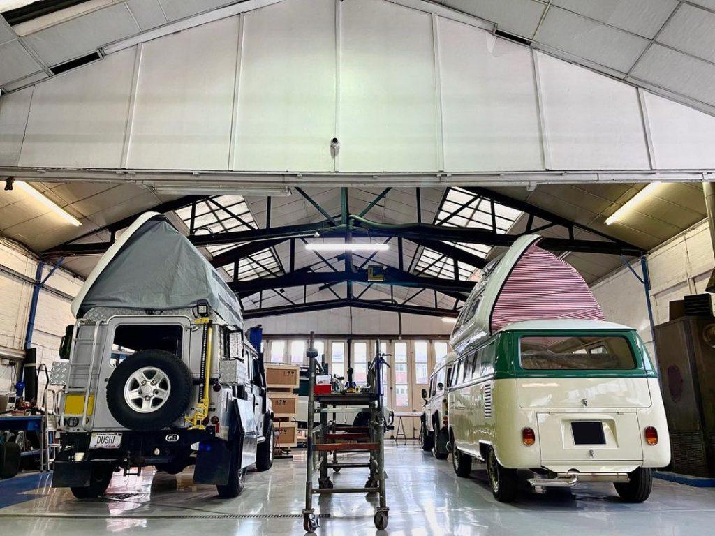 Dormobile workshop camper conversions