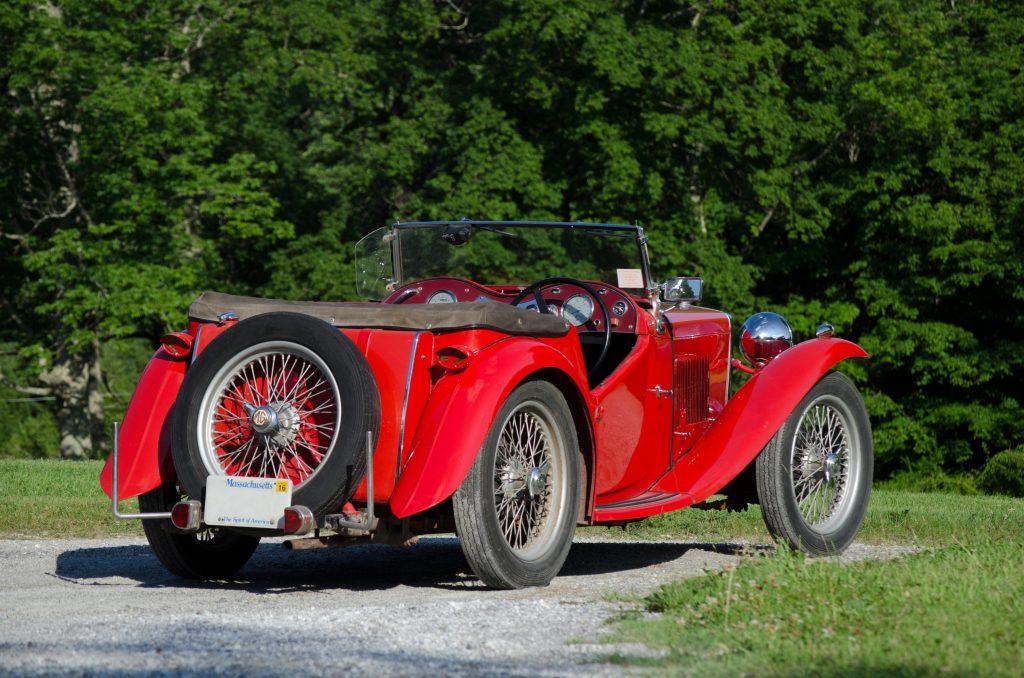1948 MG TC Midget