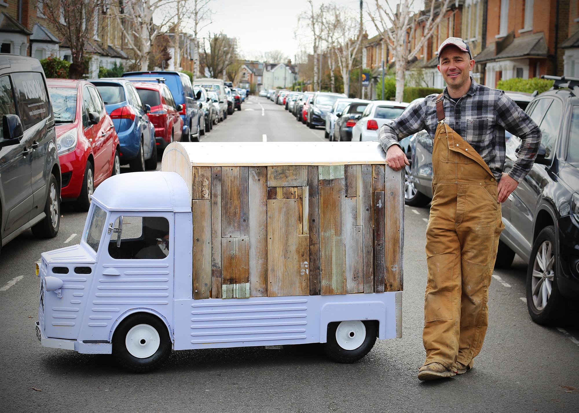 Hard Craft: Yannick Read, miniature vehicle maker