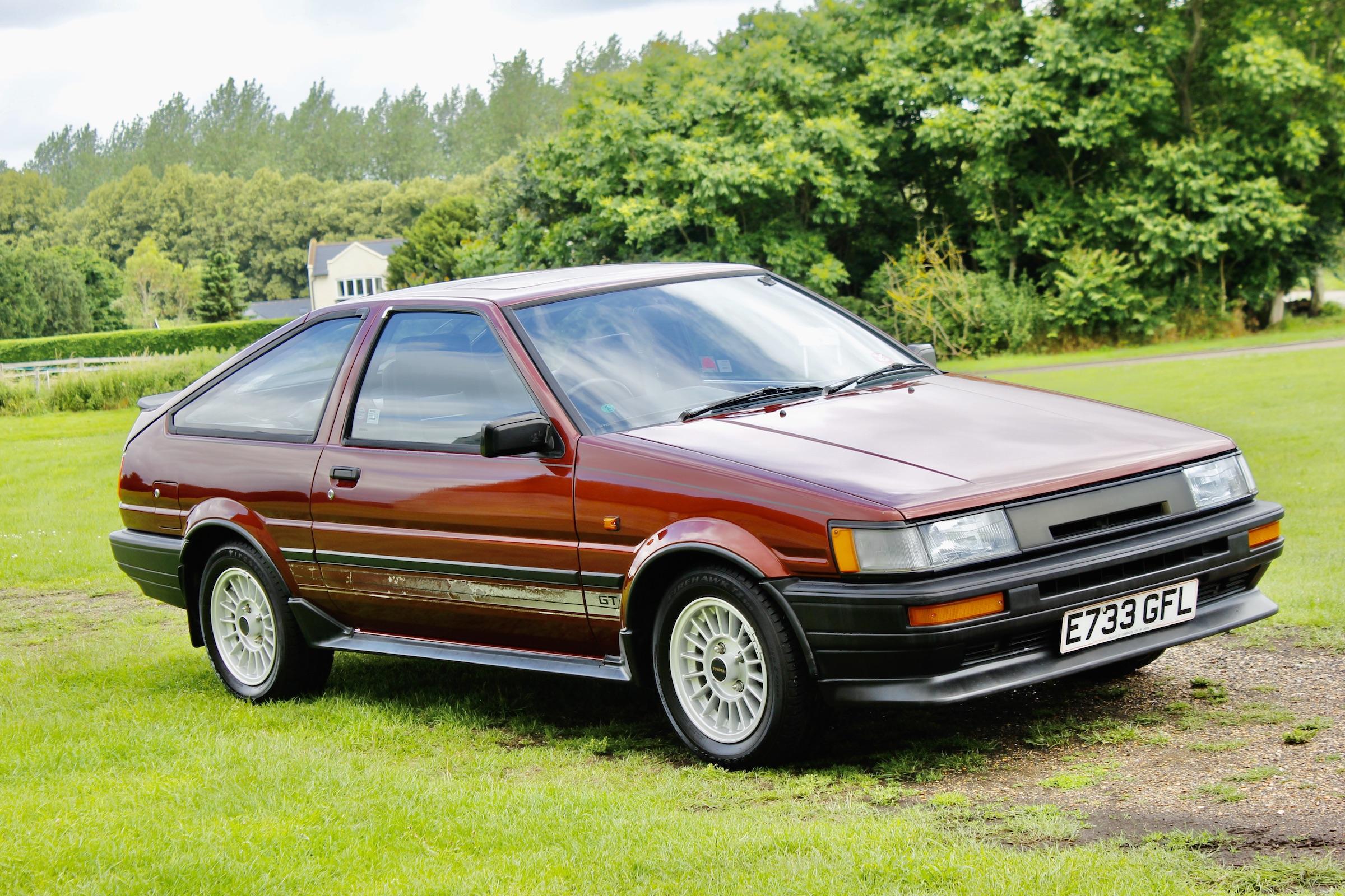 Tofu Tax? Toyota Corolla AE86 sells for £46,250