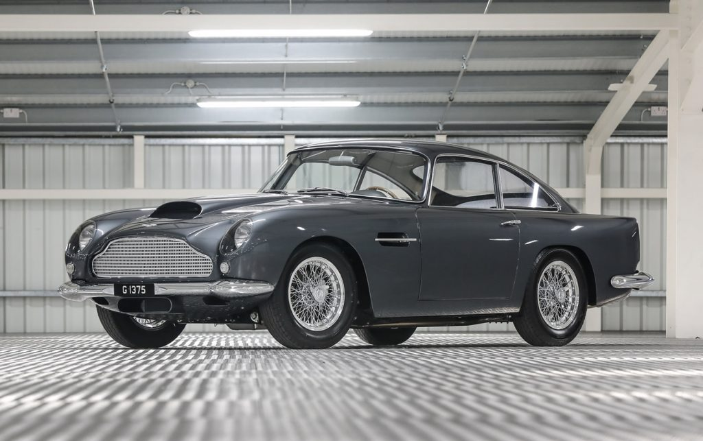 The second most valuable car sold in 2021 to date is this 1961 Aston Martin DB4 GT