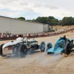 Grand Prix cars at Brooklands
