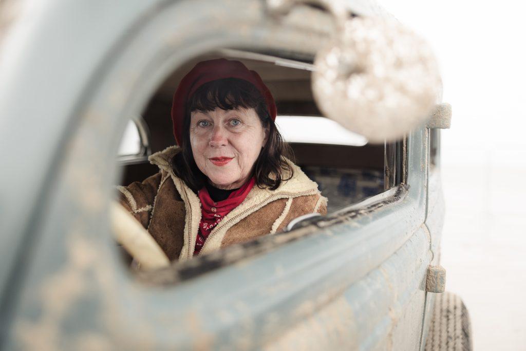 Claire Irwin 1934 Model 40 sedan