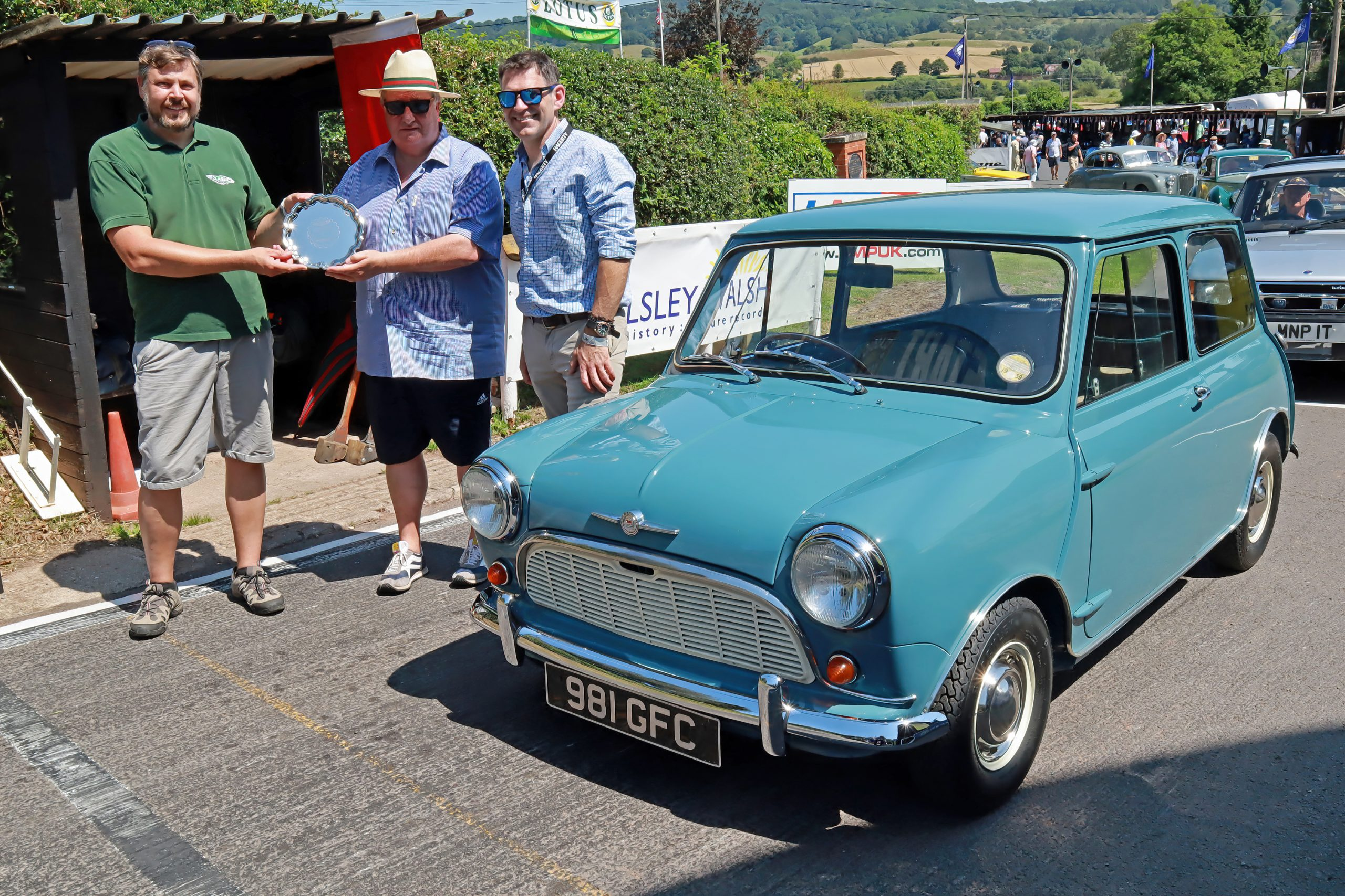 Tales of the unexpected at Shelsley Walsh Classic Nostalgia concours