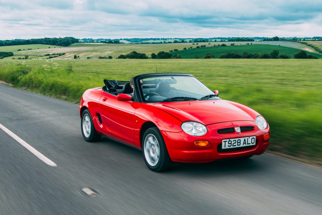 1998 MGF 1.8 VVC front tracking