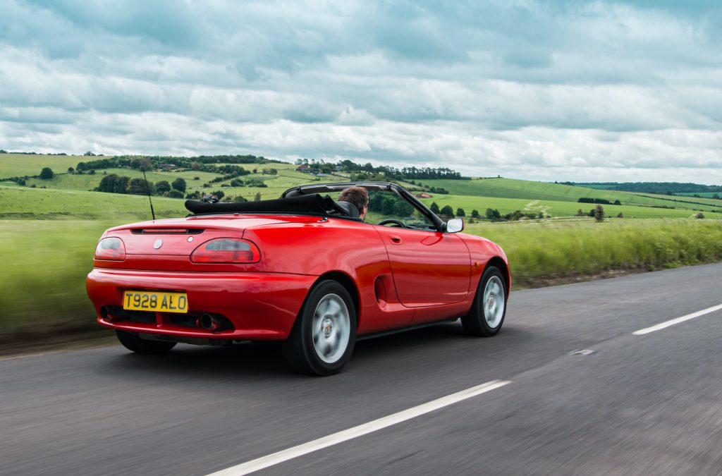 1998 MGF 1.8 VVC rear tracking