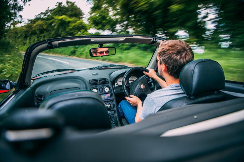 1998 MGF 1.8 VVC driving