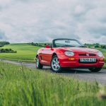 1998 MGF 1.8 VVC front three quarters