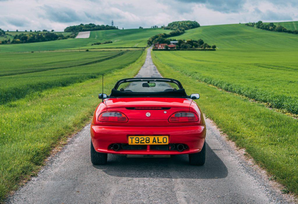 1998 MGF 1.8 VVC rear